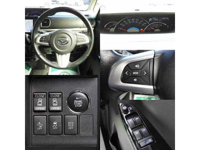 カスタムRS SA アイドリングストップ・スマートアシスト・純正オプションSDナビ・フルセグTV・バックモニター・bluetooth・USB・純正フリップダウンモニター・両側パワースライドドア・社外シートカバー(9枚目)