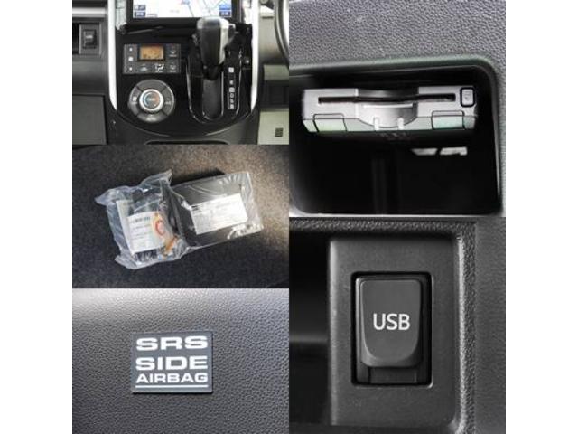 カスタムRS SA アイドリングストップ・スマートアシスト・純正オプションSDナビ・フルセグTV・バックモニター・bluetooth・USB・純正フリップダウンモニター・両側パワースライドドア・社外シートカバー(12枚目)