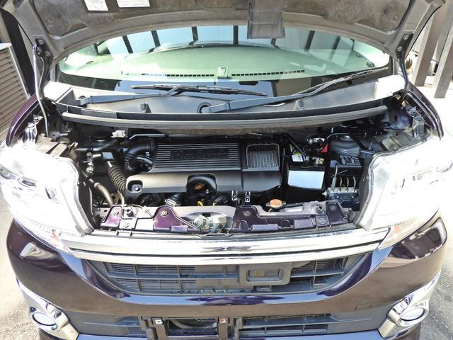 カスタムRS SA アイドリングストップ・スマートアシスト・純正オプションSDナビ・フルセグTV・バックモニター・bluetooth・USB・純正フリップダウンモニター・両側パワースライドドア・社外シートカバー(18枚目)
