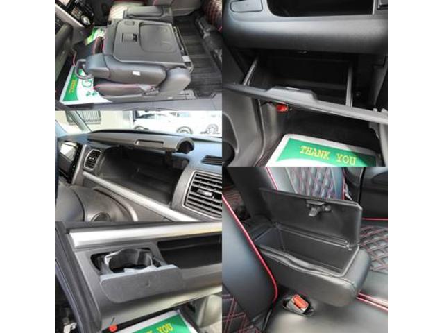 カスタムRS SA アイドリングストップ・スマートアシスト・純正オプションSDナビ・フルセグTV・バックモニター・bluetooth・USB・純正フリップダウンモニター・両側パワースライドドア・社外シートカバー(22枚目)