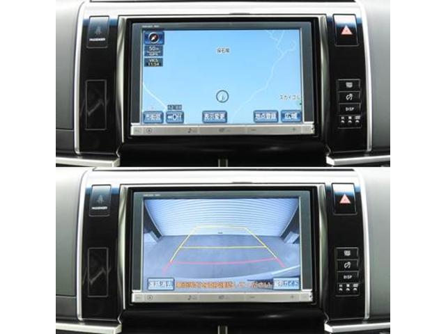 アエラス 純正オプションHDDナビ・フルセグTV・Bluetooth・Bモニター・純正フリップダウンモニター・ETC・両側パワースライドドア・HIDライト・(8枚目)