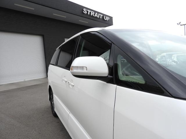 アエラス 純正オプションHDDナビ・フルセグTV・Bluetooth・Bモニター・純正フリップダウンモニター・ETC・両側パワースライドドア・HIDライト・(25枚目)