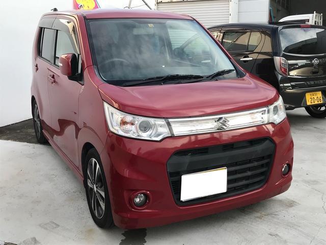 「スズキ」「ワゴンRスティングレー」「コンパクトカー」「佐賀県」の中古車4
