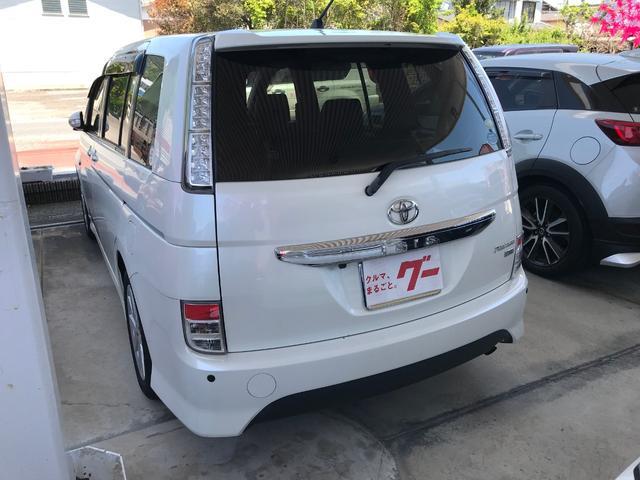 「トヨタ」「アイシス」「ミニバン・ワンボックス」「佐賀県」の中古車5