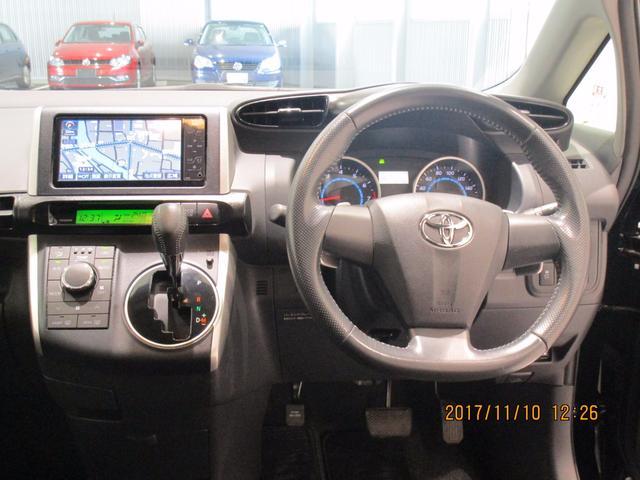 トヨタ ウィッシュ 1.8S ワンオーナー HDDナビ フィリップダウンモニター
