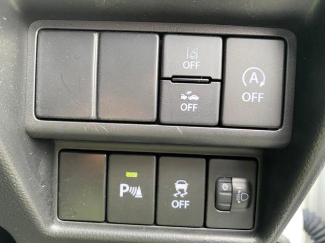FX MC後モデル/後退時ブレーキサポート/スズキセーフティーサポート/プッシュスタート/EBD付ABS/横滑り防止装置/アイドリングストップ/エアバッグ 運転席/エアバッグ 助手席/パワーウインドウ(11枚目)