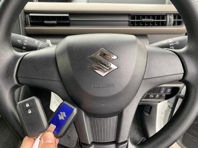 FX MC後モデル/後退時ブレーキサポート/スズキセーフティーサポート/プッシュスタート/EBD付ABS/横滑り防止装置/アイドリングストップ/エアバッグ 運転席/エアバッグ 助手席/パワーウインドウ(12枚目)