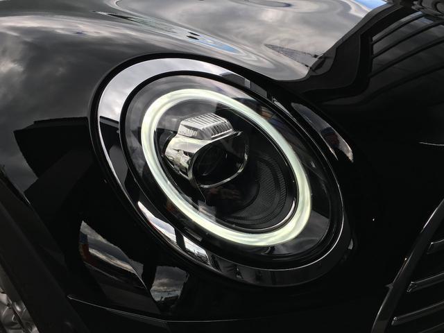 クーパー クラブマン LEDヘッドライト 純正ナビ バックモニター シルバールーフ(14枚目)