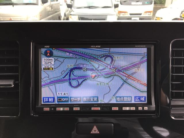 日産 モコ S HDDナビ地デジ 黒革調シートカバー キーレス