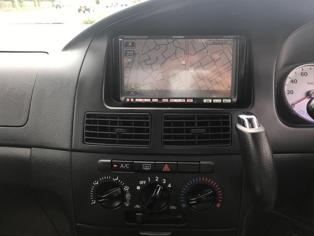 VS HDDナビ 黒革調シートカバー 社外アルミエアロ(15枚目)