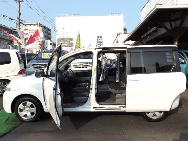 トヨタ シエンタ Xリミテッド HDDナビ 自動ドア ETC 7人乗 2年保証
