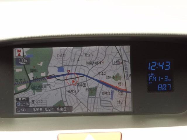 機能多彩な純正HDDインターナビ付きです!!