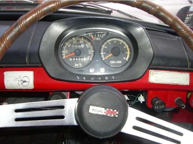 スバル 360 ヤングSS DXエンジン