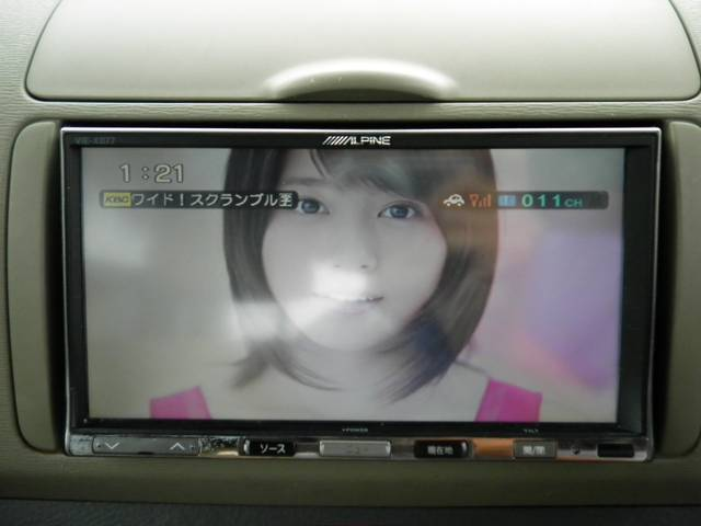 ダイハツ タント L アルパインHDDナビフルセグTV ETC