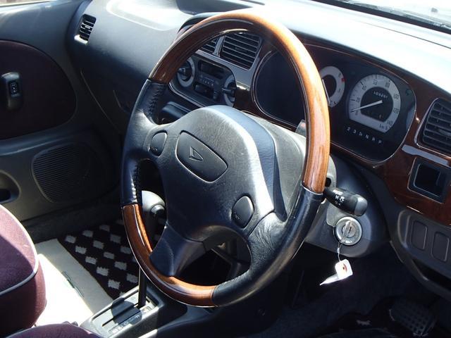 ダイハツ ミラジーノ ジーノ ウッドコンビハンドル オートマ CDコンポ 2年保証