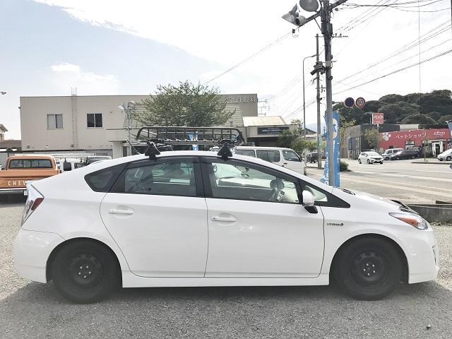 トヨタ プリウス 1.8S◆ヤキマルーフラック◆LEDヘッドライト