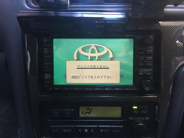 トヨタ チェイサー ツアラーV  DVDナビ 社外アルミ ETC