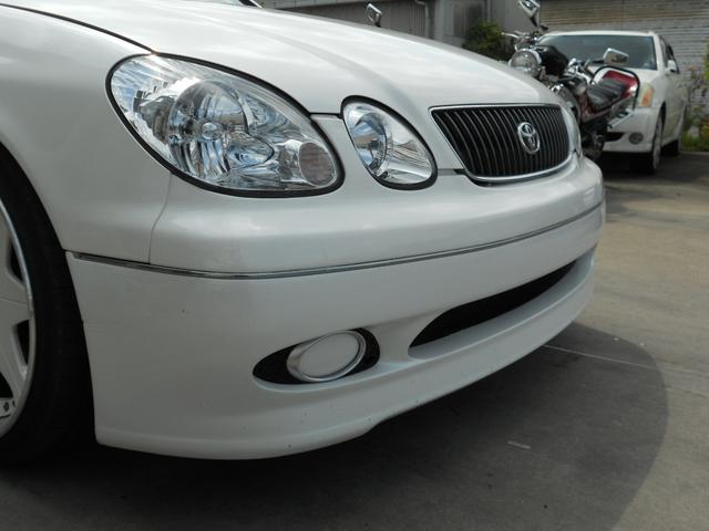 トヨタ アリスト V300ベルテックスエディションエアロ車高調LEDテール