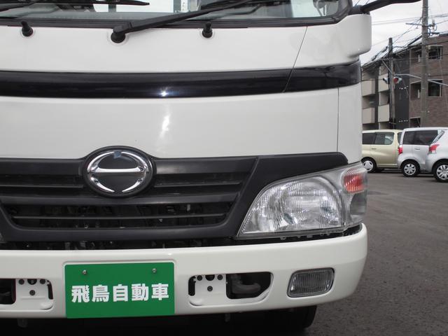 3トンフルジャストロー平ボディ 4ナンバー車 バックカメラ(3枚目)