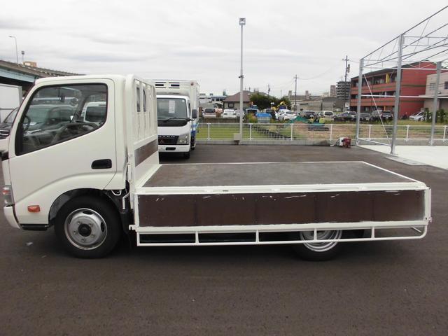 3トンフルジャストロー平ボディ 4ナンバー車 バックカメラ(15枚目)