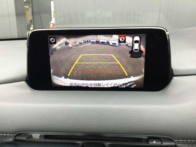 駐車時に助かるバックモニターが付いてます。コーナーセンサーも付いてるので音で障害物を教えてくれます。