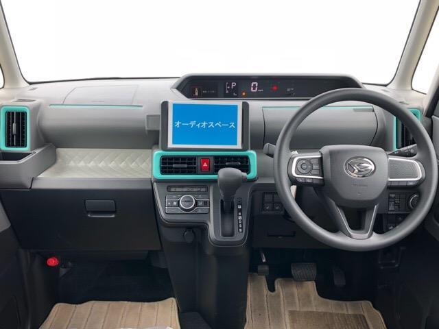 Xセレクション 片側電動スライドドア・届出済未使用車・プッシュボタンスタート・ステアリングスイッチ・オートエアコン・コーナーセンサー・バックカメラ対応・キーフリーシステム・シートヒーター・パワーウィンドウ(3枚目)