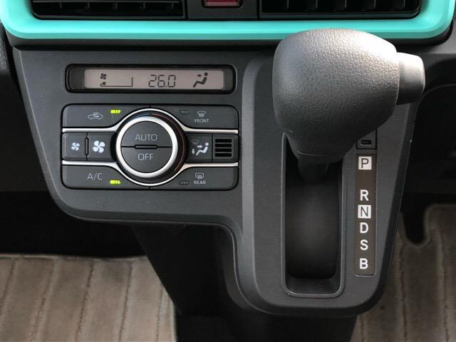 Xセレクション 片側電動スライドドア・届出済未使用車・プッシュボタンスタート・ステアリングスイッチ・オートエアコン・コーナーセンサー・バックカメラ対応・キーフリーシステム・シートヒーター・パワーウィンドウ(11枚目)