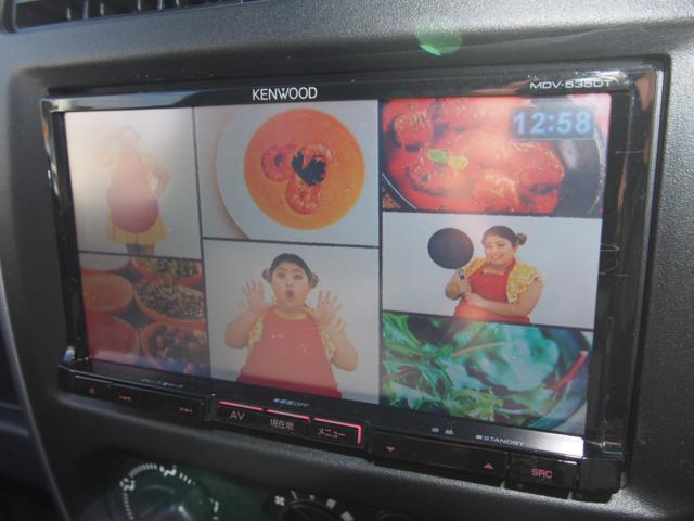 スズキ ジムニー 3インチリフトアップ フジツボマフラー 社外ナビ 地デジTV