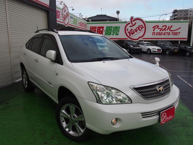 「トヨタ」「ハリアーハイブリッド」「SUV・クロカン」「福岡県」の中古車4