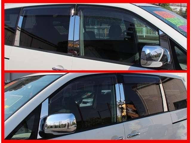 トヨタ ヴォクシー Z 煌 社外19AW TEINフルタップ式車高調