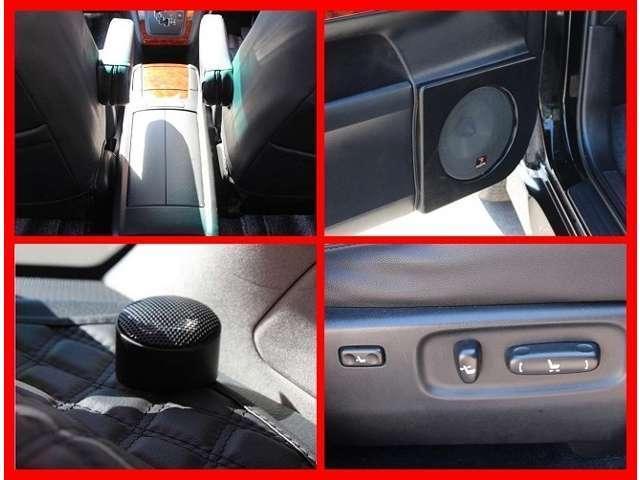 トヨタ ハリアー 240G Lパッケージ  社外22AW TRDサス HDD