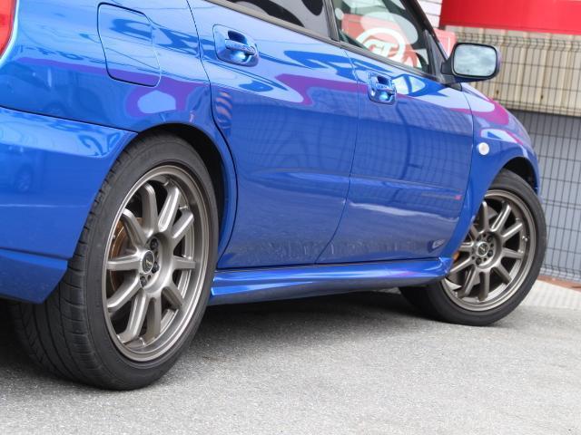 スバル インプレッサ WRX STi 車高調 社外17AW Tベル交換済み