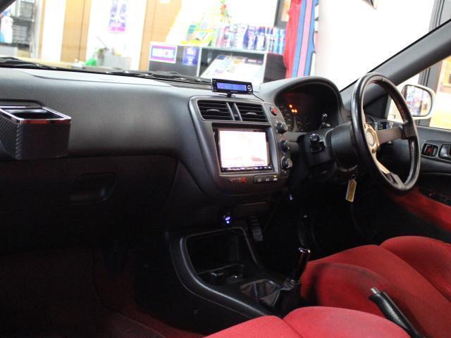 ホンダ シビック タイプR RAYS15インチAW クスコ車高調