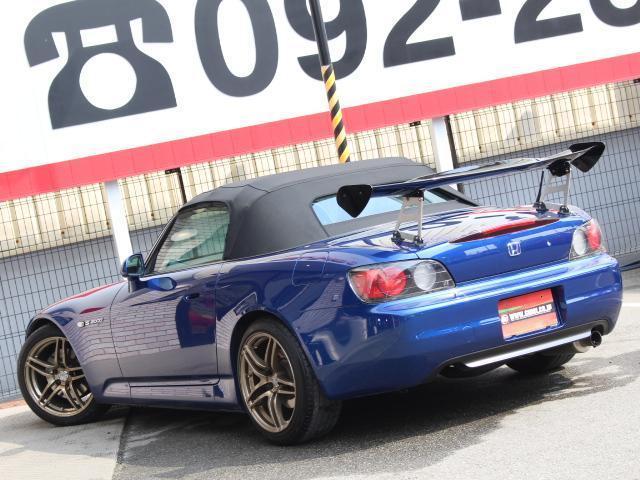 ホンダ S2000 ベースグレード Fリップスポイラー アラゴスタ車高調