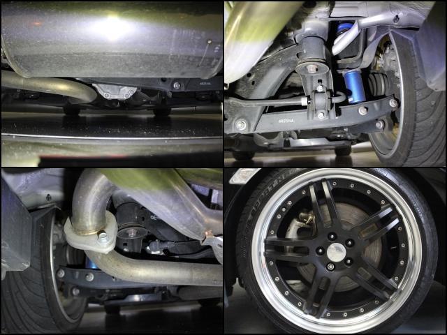 S クスコ車高調 WORK19インチAW 柿本マフラー  純正リアスポイラー STIリアアンダースポイラー ダイヤトーンナビ バックカメラ Bluetooth DVD CD クルーズコントロール(20枚目)