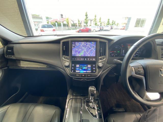 アスリートS HDDナビ・フルセグTV バックカメラ 18インチAW 革シート シートエアコン シートヒーター インテリジェントクリアランスソナー アダプティブクルーズコントロール スマートキー ETC(14枚目)