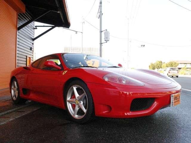 フェラーリ フェラーリ 360 モデナF1 正規D車黒革Sチャレグリ