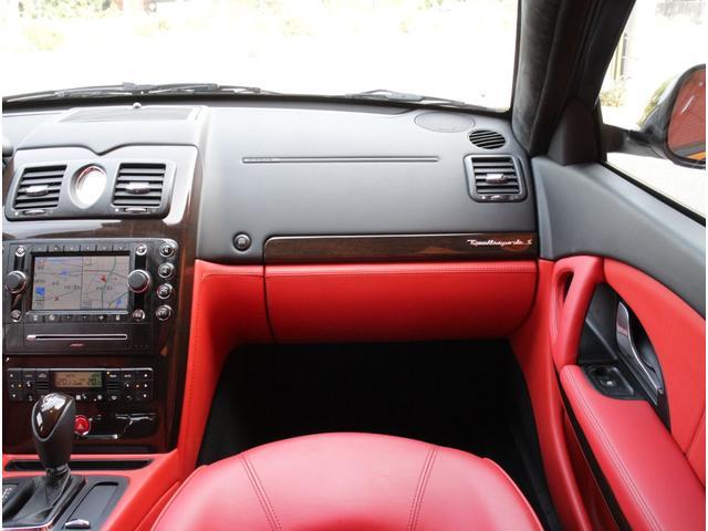 S4.7V8D車左H赤革SSRHDDナビ後期型OP20AW(14枚目)