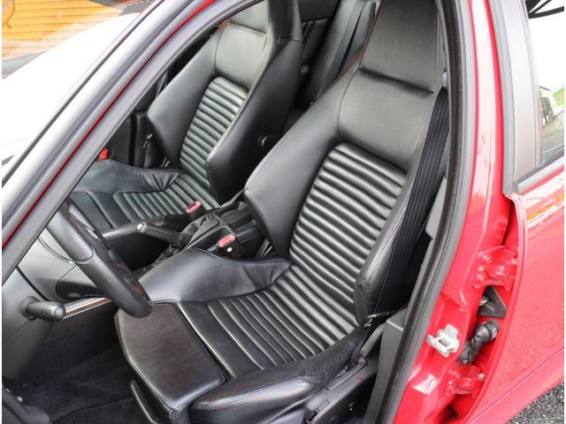 GTA 正規D車F6速黒革Sエアロ車高調マフラー付(16枚目)