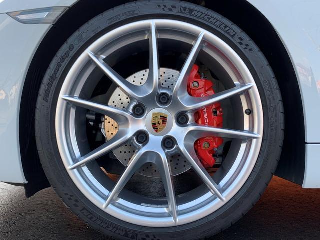 718ボクスターS PDK スポーツクロノPKG・正規ディーラー車・ポルシェエントリー&ドライブ・カレラ20インチAW・電動OP・純正ナビTV・Bカメラ・シートヒーター・カラークレストセンターキャップ・レッドキャリパー(59枚目)
