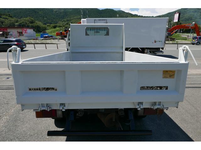 いすゞ エルフトラック 3T 低床強化ダンプ