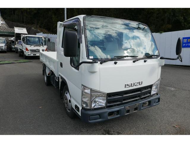 いすゞ エルフトラック 2T低床ダンプ Dターボ