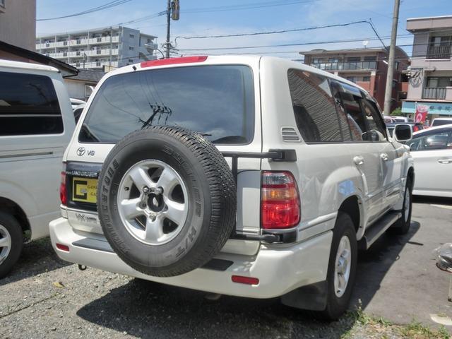 「トヨタ」「ランドクルーザー100」「SUV・クロカン」「福岡県」の中古車4