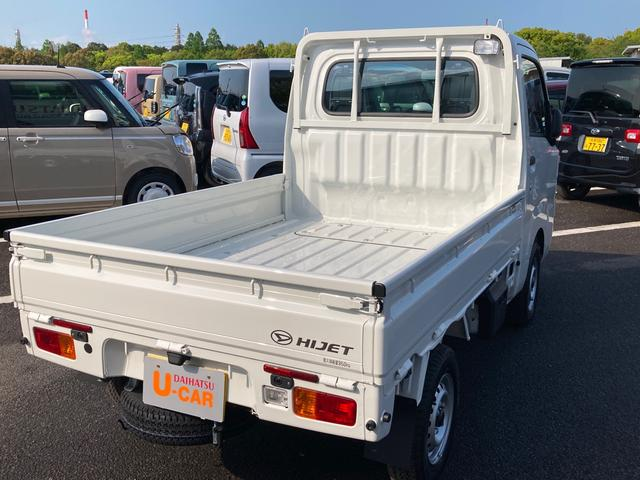 スタンダード 農用スペシャルSA3t 4WD 5速マニュアル 4枚リーフスプリング 荷台作業灯 スマートアシスト付き(5枚目)