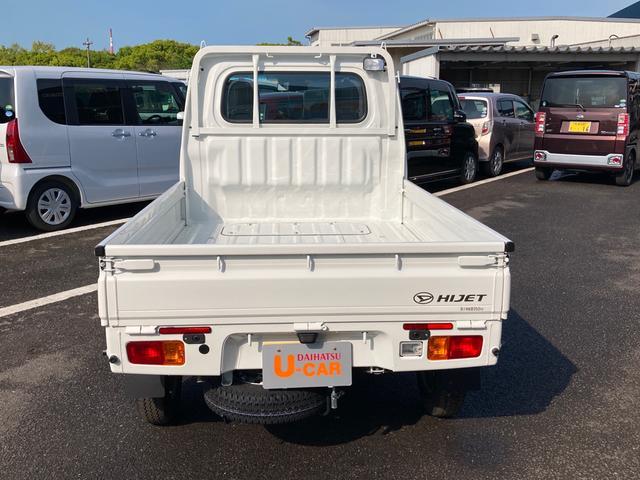 スタンダード 農用スペシャルSA3t 4WD 5速マニュアル 4枚リーフスプリング 荷台作業灯 スマートアシスト付き(6枚目)