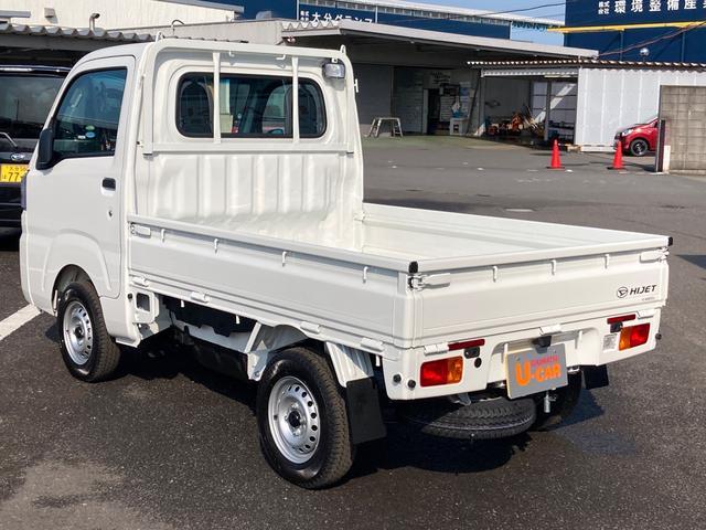 スタンダード 農用スペシャルSA3t 4WD 5速マニュアル 4枚リーフスプリング 荷台作業灯 スマートアシスト付き(7枚目)
