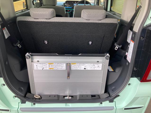 スローパーX ターンシート付 LDP 福祉車両 パノラマモニター対応(18枚目)