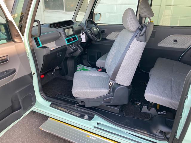 スローパーX ターンシート付 LDP 福祉車両 パノラマモニター対応(30枚目)