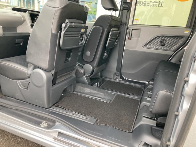 カスタムRSセレクション ターボ車 両側パワースライドドア シートヒーター バックカメラ コーナーセンサー(28枚目)