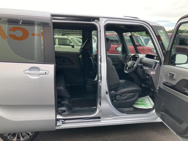カスタムRSセレクション ターボ車 両側パワースライドドア シートヒーター バックカメラ コーナーセンサー(41枚目)